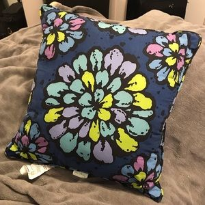 "Vera Bradley 16"" in Double Sided Decorative Pillow"